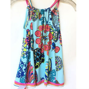 Disney Finding Dory Trina Turk Beach Rancho Dress